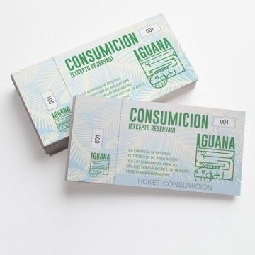 Tickets de Consumición baratos